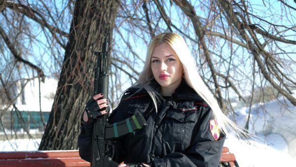 Прапорщик полиции Анна Храмцова, Екатеринбург