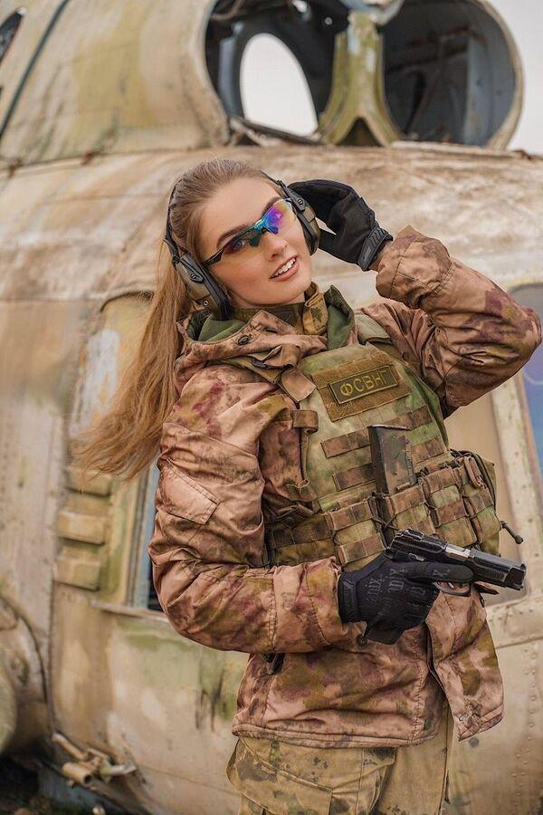 Лейтенант Шмакова Карина, г. Грозный