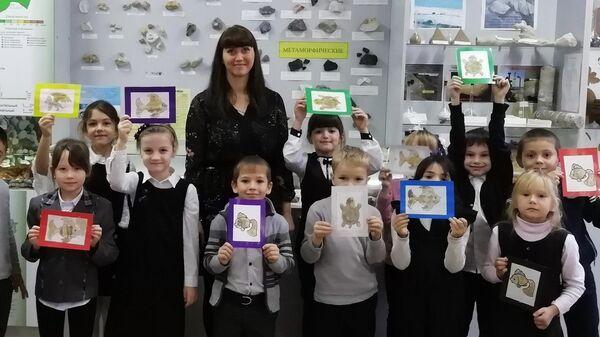 Анастасия Сергеева с классом