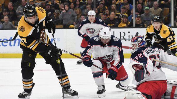 Матч НХЛ Бостон - Коламбус