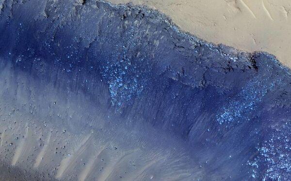 Система разломов Cerberus Fossae на поверхности Марса