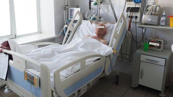 Мужчина, доставленный в Красноярскую краевую клиническую больницу №1, в состоянии сильного переохлаждения