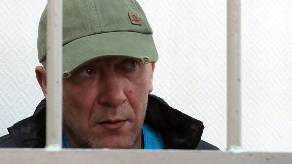 Игорь Подпорин во время оглашения приговора в Замоскворецком суде Москвы