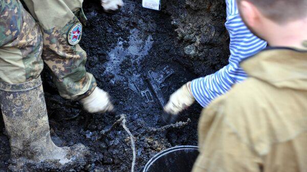 Останки экипажа штурмовика Ил-2 обнаружили в Приморье участники поискового объединения АвиаПоиск