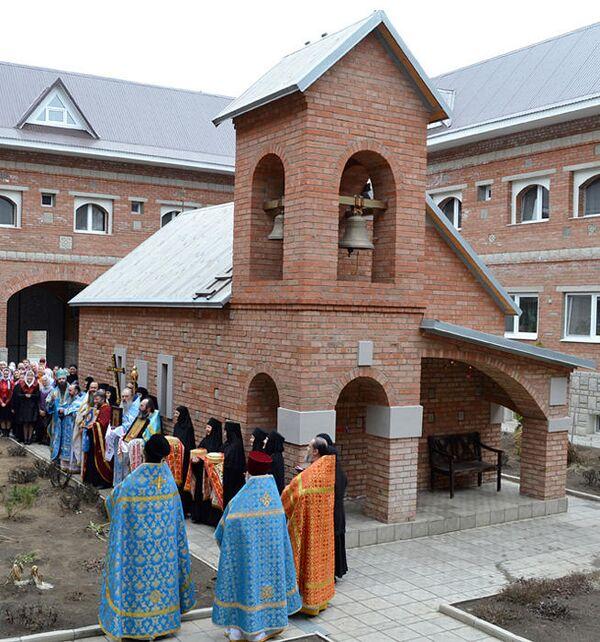 Храм преподобной Марии Египетской в Иверском женском монастыре города Орска