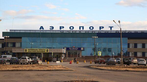 Здание международного аэропорта Мурманск