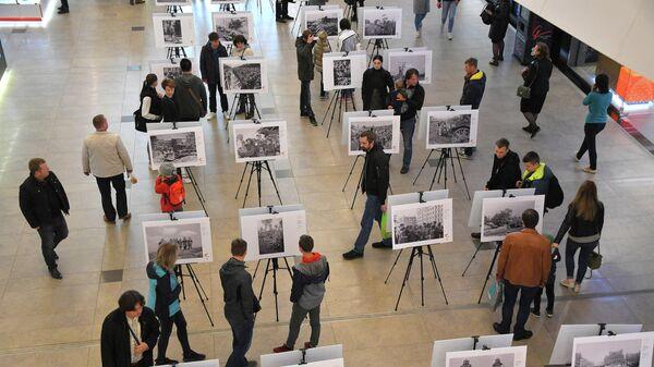 Выставка фотографий, сделанных корреспондентами Совинформбюро в годы Великой Отечественной войны, открылась в Минске