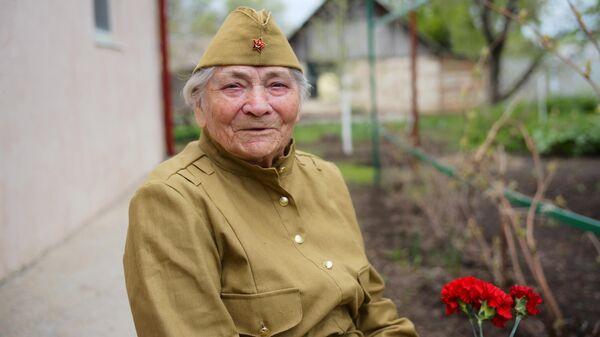 Ветеран Великой Отечественной войны Мария Лиманская
