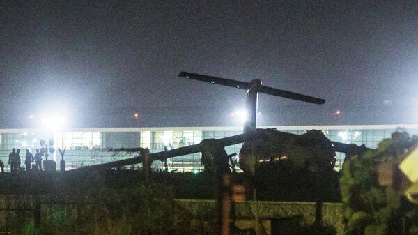 Крушение самолета авиакомпании Biman Airlines в аэропорту Мьянмы. 8 мая 2019