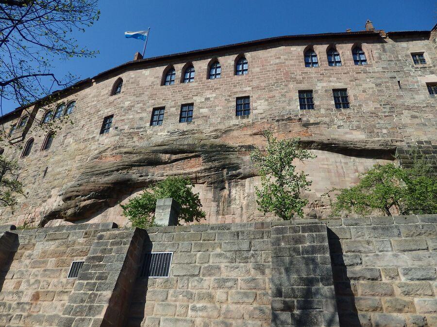 Нюрнберг. Дворец Кайзербург