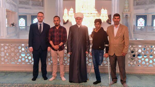 В свой день рождения Касим Алькадим посетил Соборную мечеть Москвы