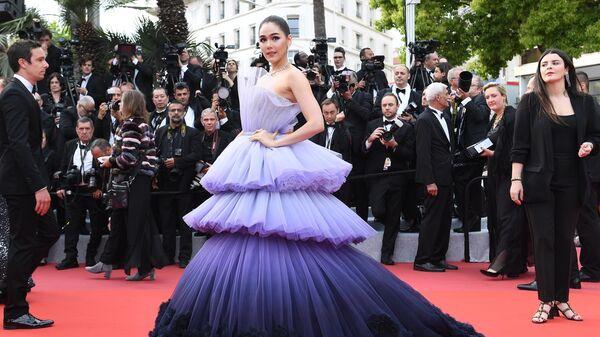 Актриса из Тайланда Арая А. Харгейт на красной дорожке церемонии открытия 72-го Каннского международного кинофестиваля