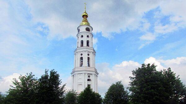 Колокольне ансамбля Троицко-Знаменской церкви в Ивановской области
