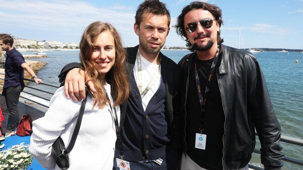 На открытии российского павильона на 72-ом Каннском кинофестивале