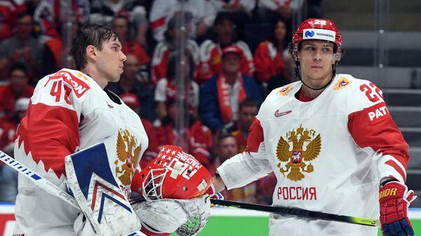 Александр Георгиев (слева) и Никита Зайцев
