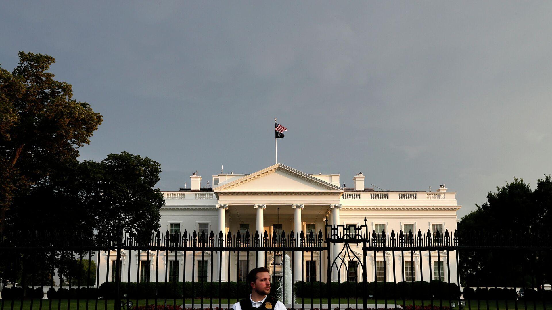 Белый дом в Вашингтоне - РИА Новости, 1920, 08.06.2021
