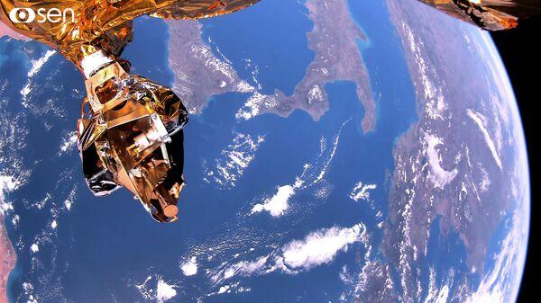 Скриншот видео Земли в формате 4K от египетского спутника дистанционного зондирования Земли EgyptSat-A