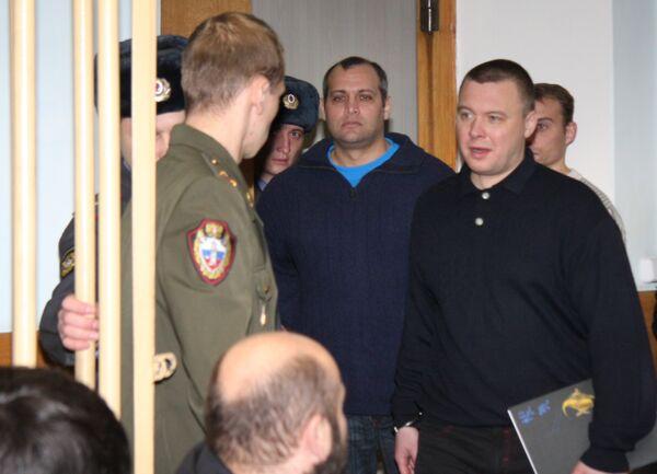 Процесс по делу об убийстве Анны Политковской в Московском окружном военном суде