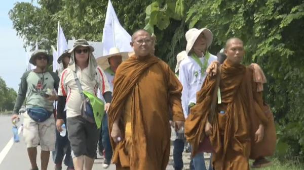 Шествие в поддержку полной легализации марихуаны в Таиланде. 22 мая 2019