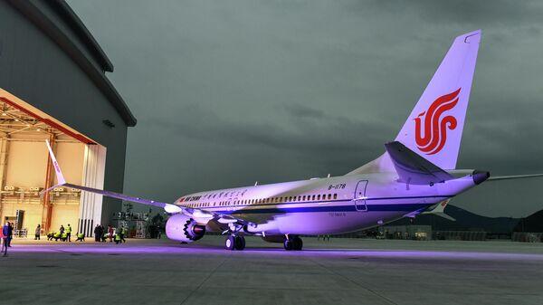 Cамолет Boeing 737 MAX 8 авиакомпании Air China