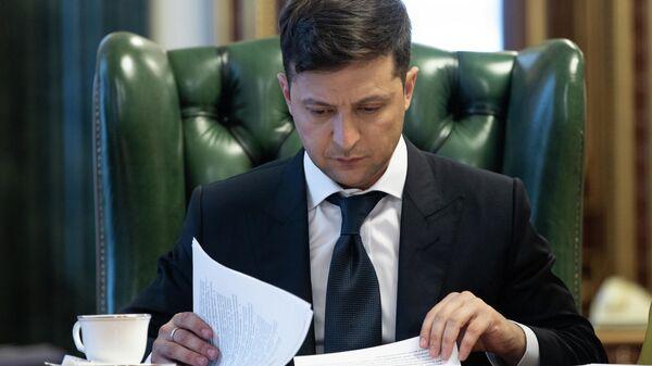 Зеленский обсудил с замглавы своей администрации