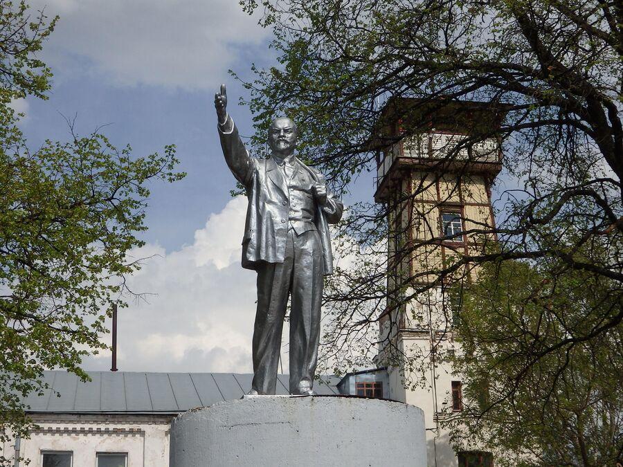 Ленин и каланча