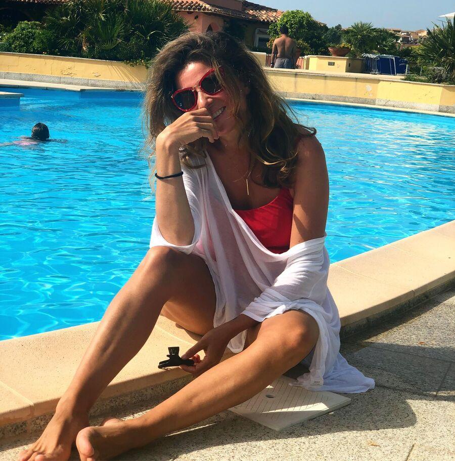Жанна Бадоева на Сардинии, Италия