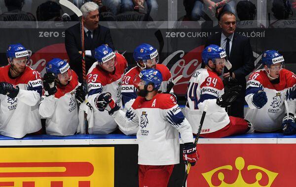 Игроки сборной Чехии
