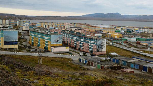 Вид города Анадырь