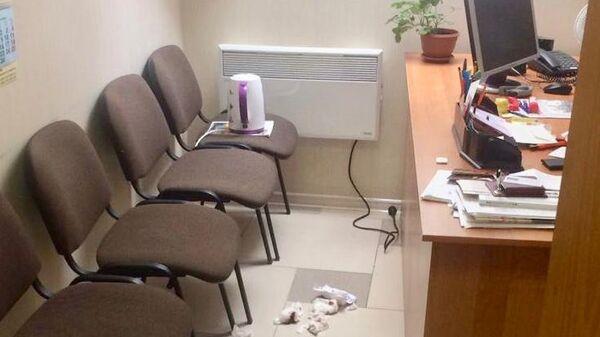Редакция газеты Родина в Ставрополе после нападения