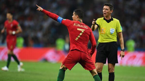 Футбол. ЧМ-2018. Матч Португалия - Испания