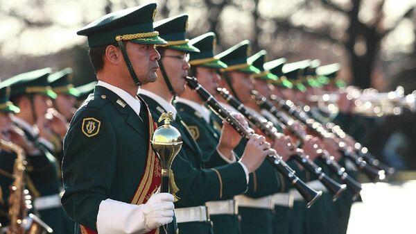 Оркестр Сухопутных войск Сил самообороны Японии выступит на Спасской башне в Москве