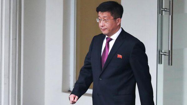 Спецпредставитель Госсовета КНДР по политике в отношении США Ким Хёк Чхоль