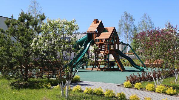 Детская игровая площадка в поселке Березки