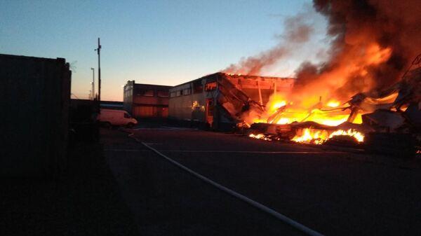 Пожар на складе ГСМ в Красноярске. 3 июня 2019