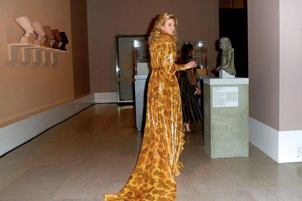 Модель Марта Хант на церемонии вручения премии Совета модельеров Америки