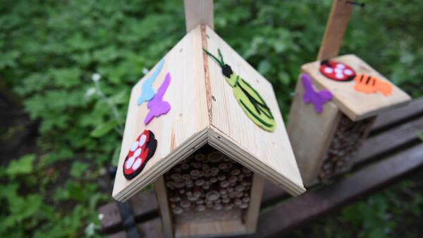 Домики для насекомых