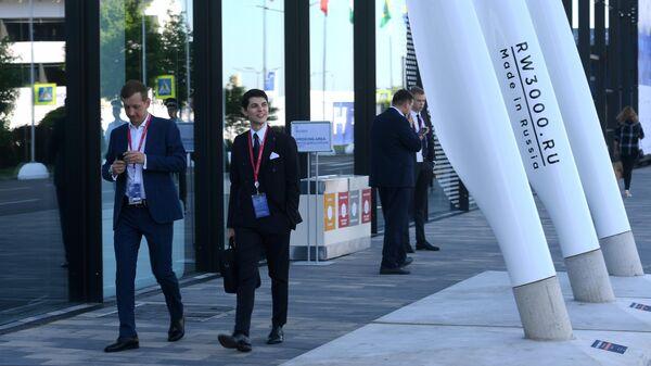 Участники на Петербургском международном экономическом форуме 2019