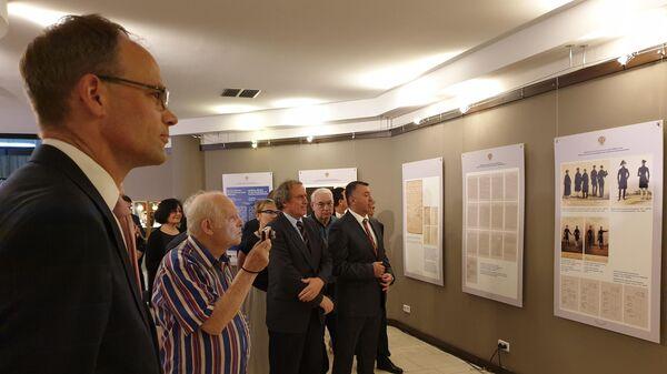 В Берлине торжественно открыли выставку 210 лет Консульской службе МИД России