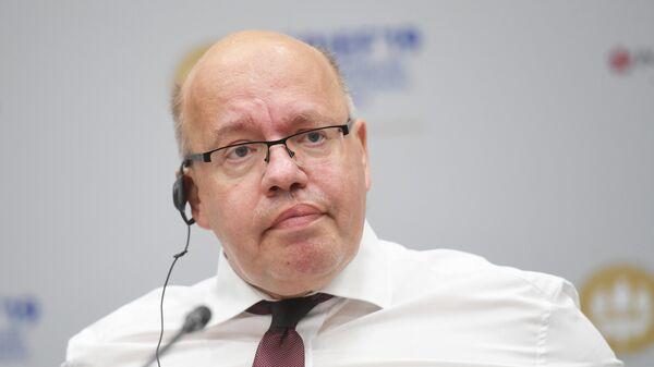 Петербургский международный экономический форум. Федеральный Министр экономики и энергетики Федеративной Республики Германия Петер Альтмайер.