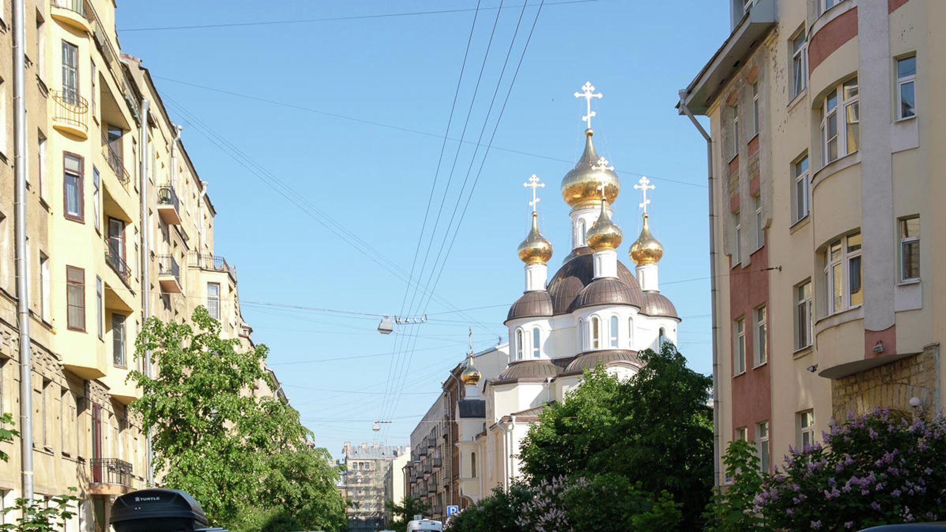 храм Ксении Блаженной в Петербурге - РИА Новости, 1920, 03.12.2020