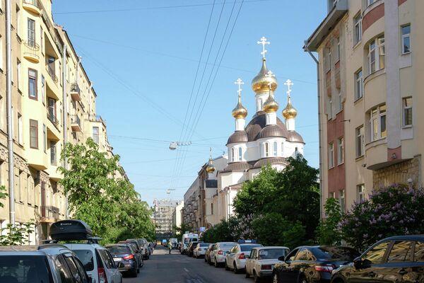 храм Ксении Блаженной в Петербурге