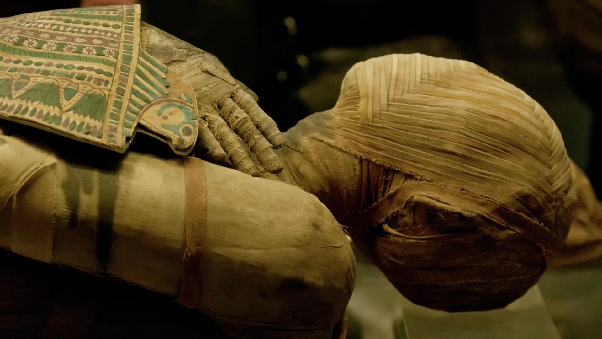 Внутри египетской мумии обнаружили необычный артефакт
