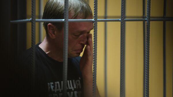 Журналист интернет-издания Медуза Иван Голунов на заседании Никулинского суда города Москвы
