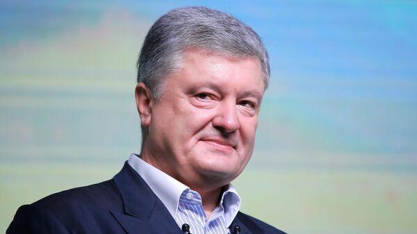 Петр Порошенко на съезде партии Европейская солидарность в Киеве. 9 июня 2019