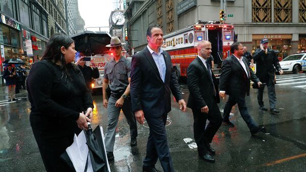 Губернатор Нью-Йорка не нашел признаков теракта в инциденте с вертолетом