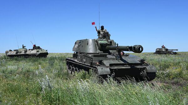 Самоходная артиллерийская установка 2СЗМ Акация