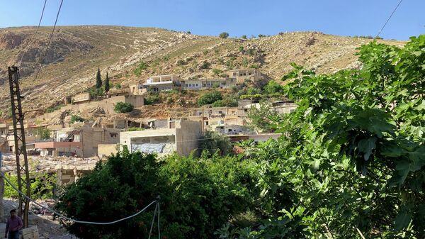 Поселение Бейт Джан на сирийских Голанских высотах