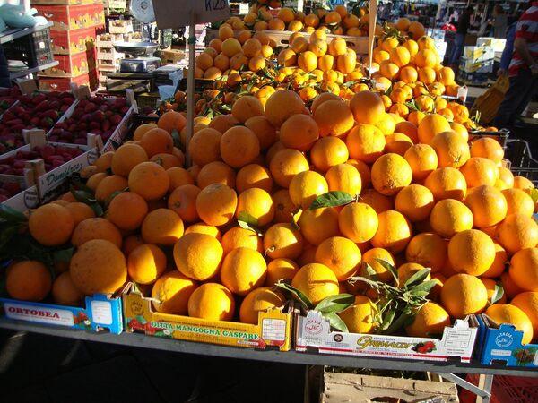 Сицилийские апельсины, Катания