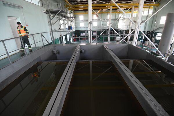 Безнапорные фильтры на станции Жуково-2